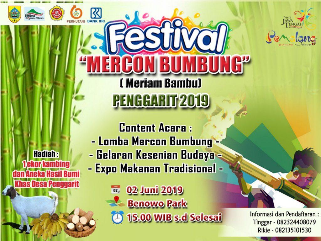 """Festival """"Mercon Bumbung"""" Penggarit 2019, melestarikan permainan tradisional yang mulai tergerus zaman"""